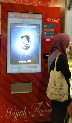 Halal vending machine, a new retail concept targeting the global market