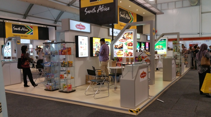 The South Africa booths