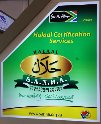Halaal certification from South Africa