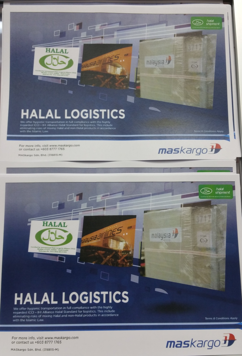 Halal logistics solution from Malaysia Airlines